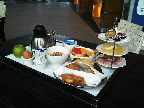 Breakfast at Radisson Blu Frankfurt