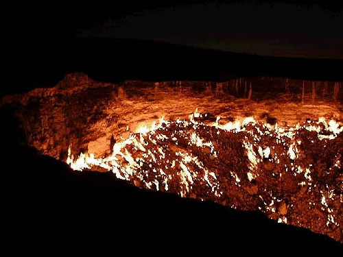 Most Mysterious Places On Earth: The Door To Hell, Uzbekistan