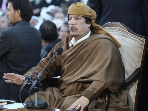 muammar al gaddafi young. Who is Mummar Muhammad al