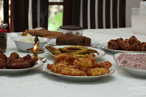 Sinhala and Tamil New Year Food