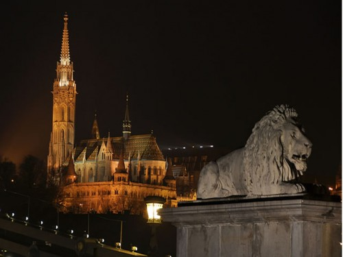 European Holiday Destinations: Church in Budapest