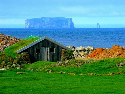 European Holiday Destinations: Drangey Island, Iceland