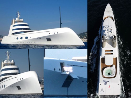 Amazing Yachts: The Yacht A
