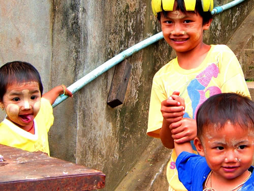 Smiles Of Burmese Children