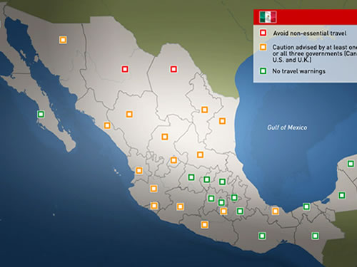 Mexico Travel Advisory: State by State