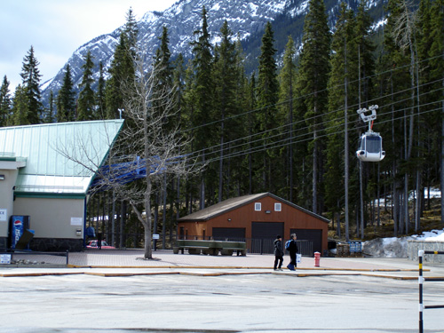 Banff National Park Pictures: Gondola at the park