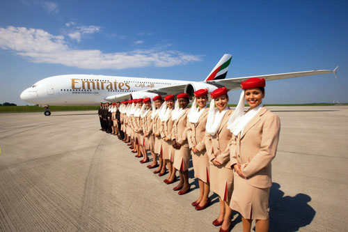 Best International Airlines To Fly: Emirates Flight Attendants
