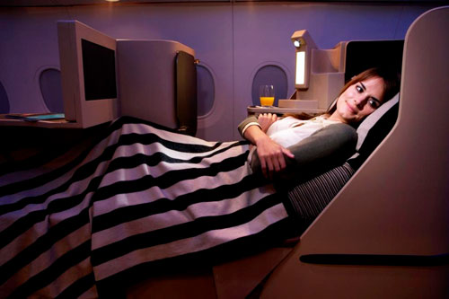 Top Rated International Airlines: Etihad Airways Business Class Seats