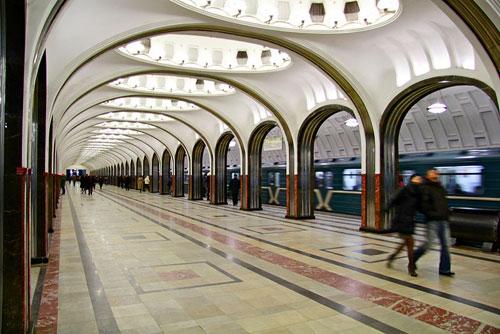 Mayakovskaya Moscow Metro