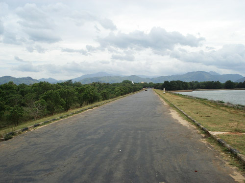 Entrance to the Udawalawe National Park