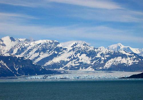 Hubbard Glacier and Icebergs, Alaska