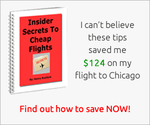 Find out the secrets of getting cheap flights each time!
